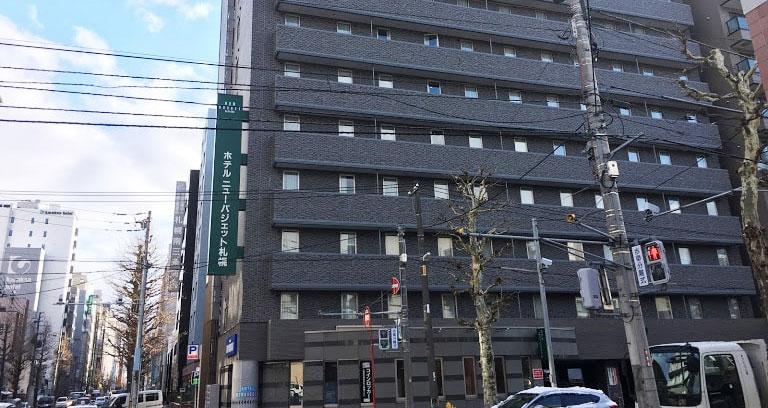 ホテルニューバジェット札幌_外観