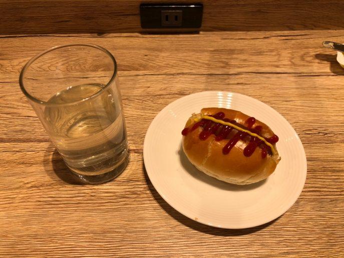 ホットドッグにして食べる