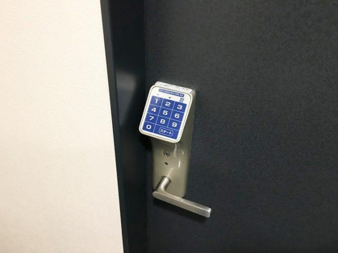 暗証番号のオートロック