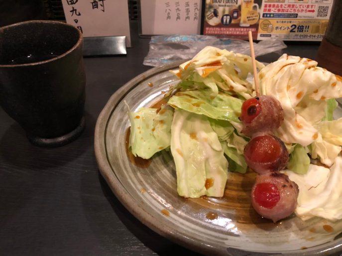 焼きトマトベーコン