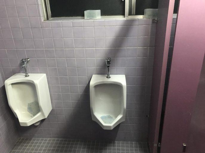 共同のトイレ