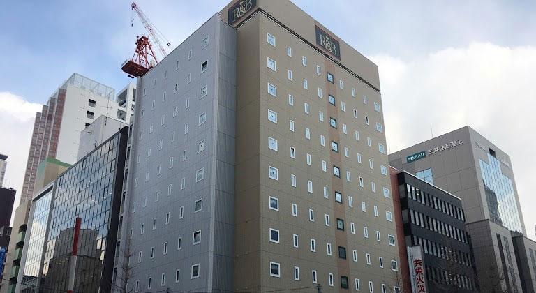 R&Bホテル札幌北3西2_外観