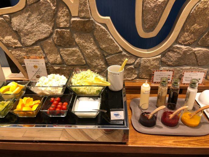 野菜&フルーツのコーナー