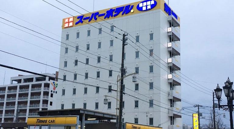 スーパーホテル旭川_外観
