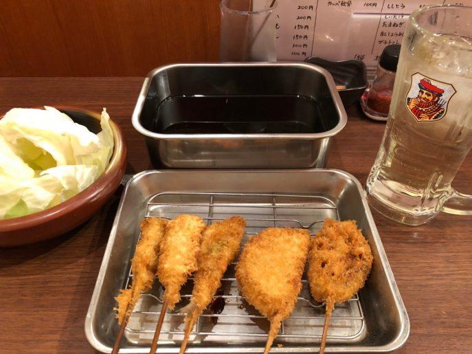 大阪名物串カツ