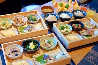 公式サイトの朝食画像