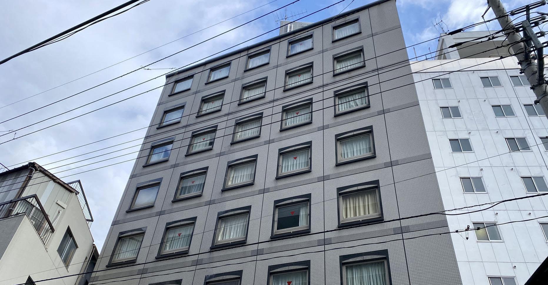 ベッセルイン上野入谷駅前外観