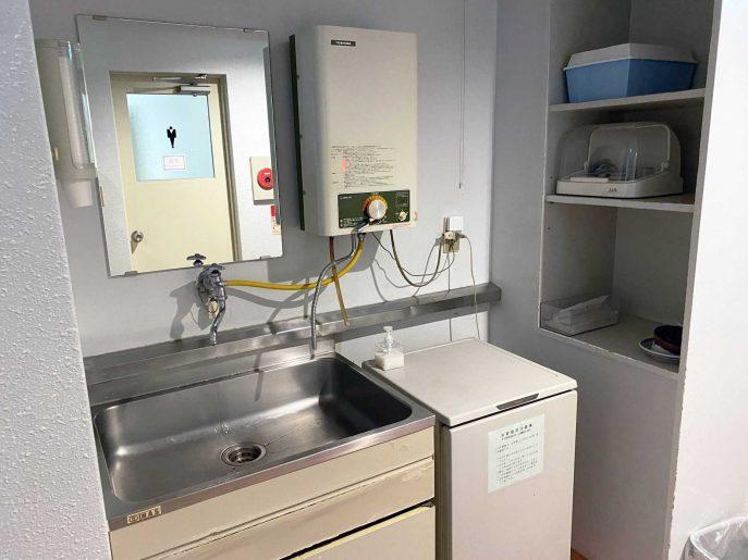 水道と冷蔵庫