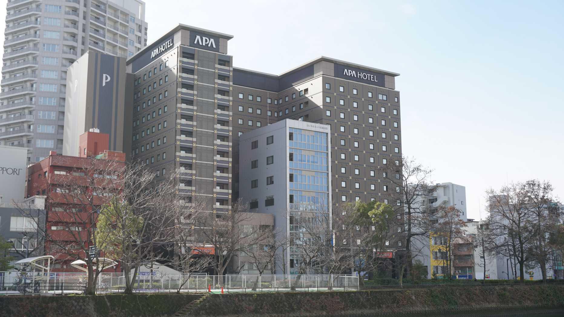 アパホテル広島駅前大橋_外観