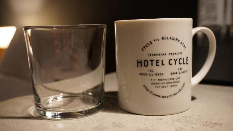 ホテルオリジナルのマグカップ