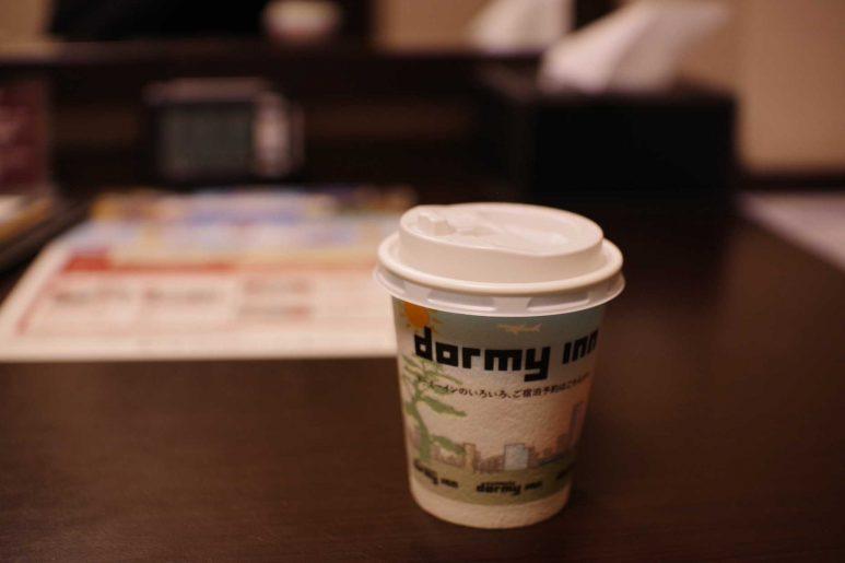 ドーミーインデザインのコーヒーカップ