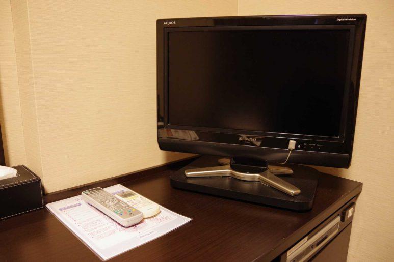 22インチの液晶テレビ