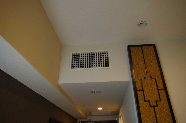 ビルトインタイプのエアコン
