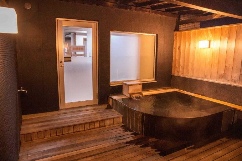 大浴場の浴槽