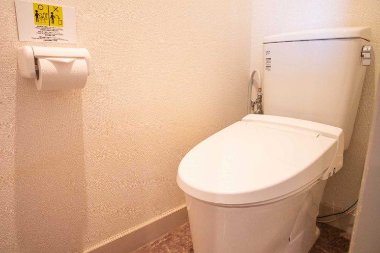 バスとは別のトイレ
