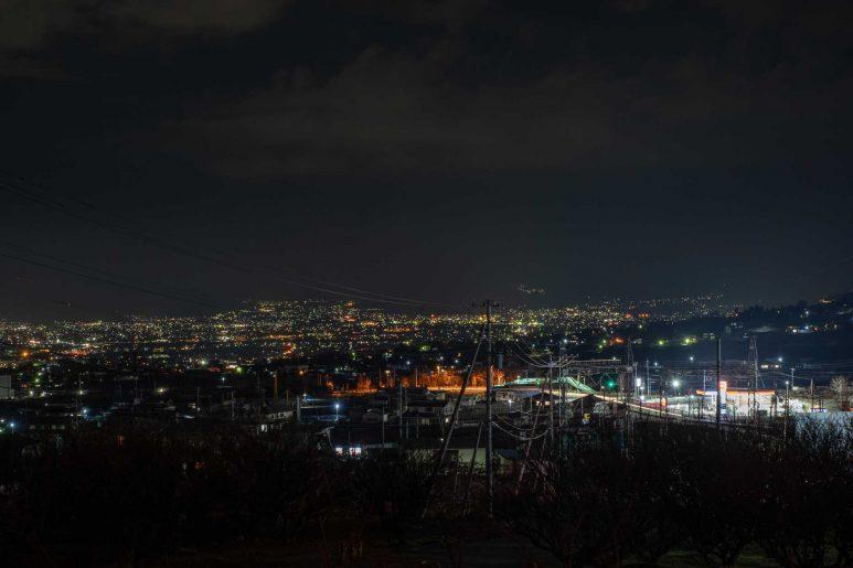 受付棟から見える夜景