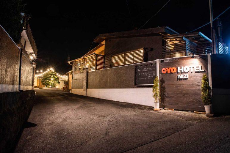 OYOホテル虹の入り口