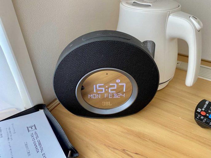 アラームクロック搭載Bluetoothスピーカー