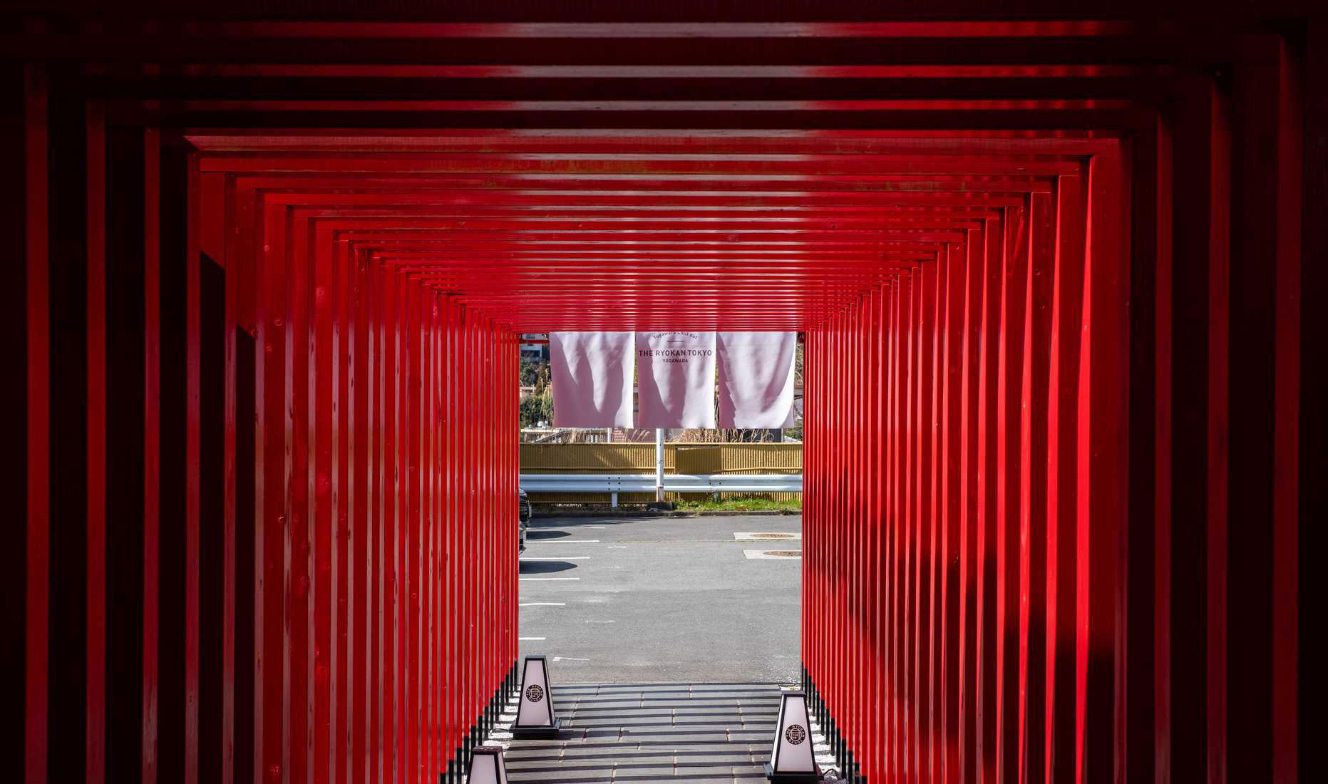 The Ryokan Tokyo Yugawaraの入り口