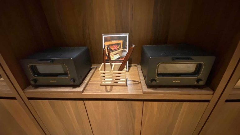 バルミューダのスチームオーブントースター