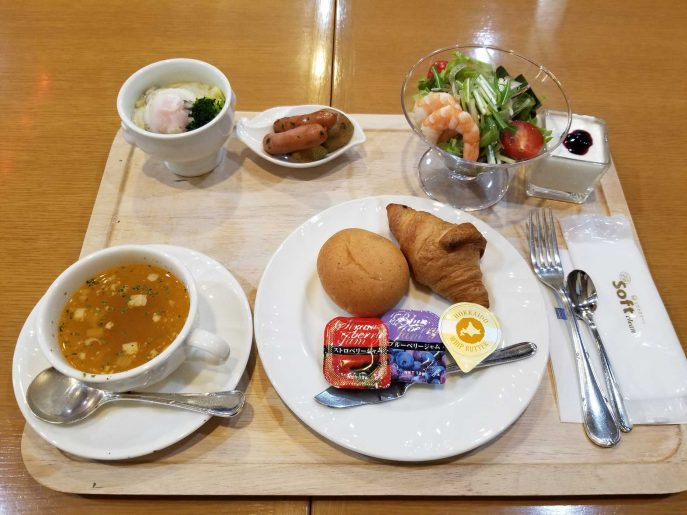 朝食の洋定食