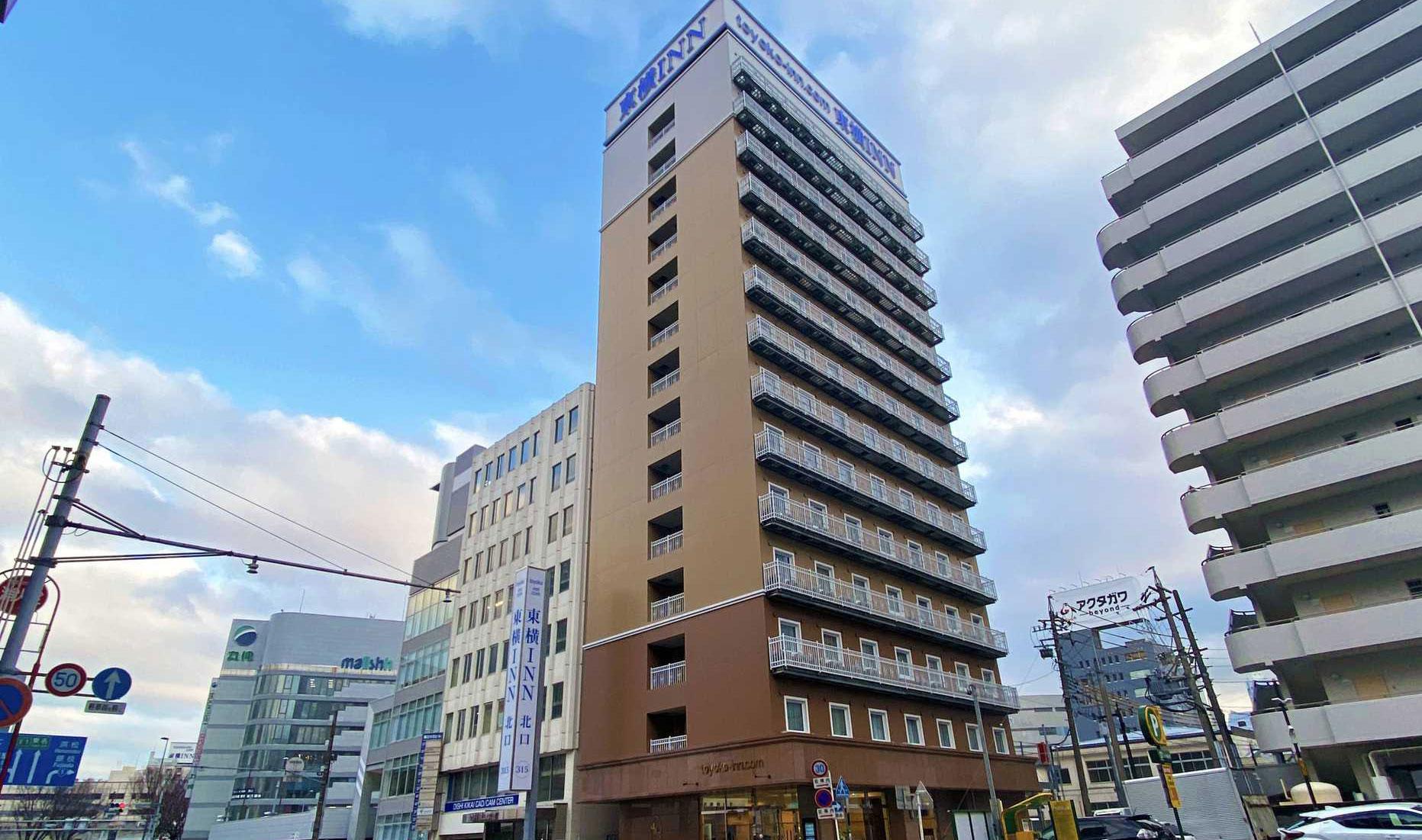 東横イン静岡駅北口の外観
