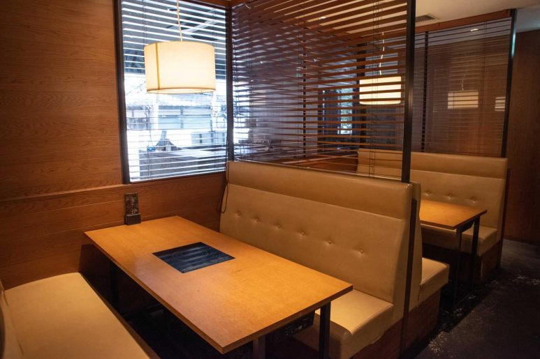朝食会場のレストラン